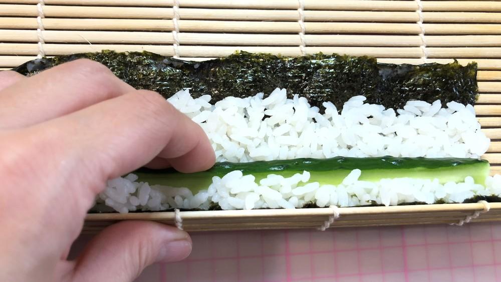 世界的ブームの野菜すし♪野菜で「巻き寿司」に挑戦!