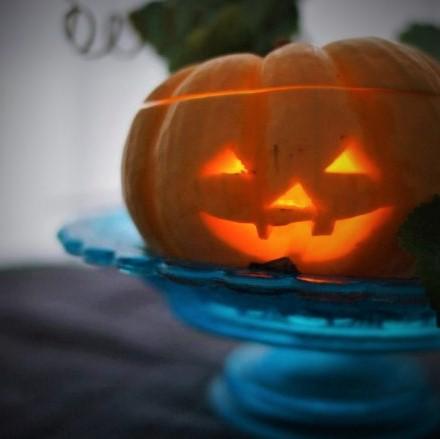 生かぼちゃでハロウィン「ジャックオーランタン」作りに挑戦!