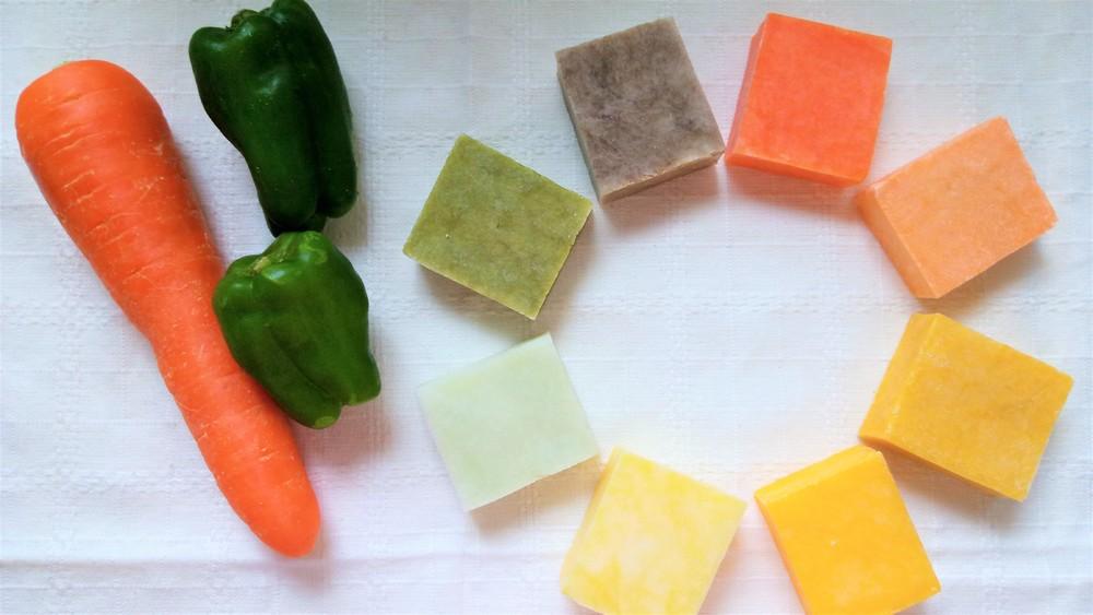 【夏休み自由研究】野菜の捨てちゃう部分で「野菜石けん」をつくろう!