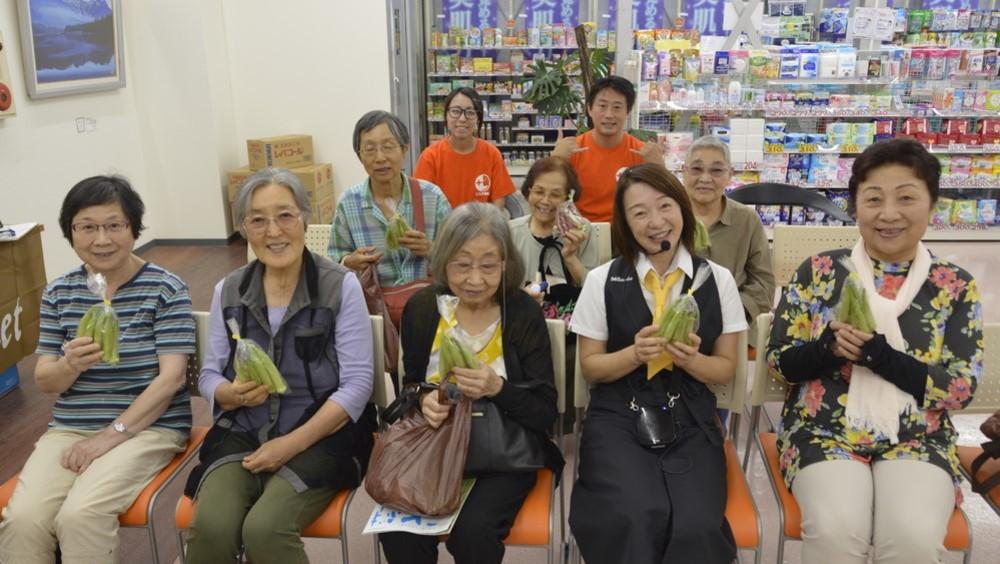 仁生堂総合店様にて顧客向けに食育マルシェ開催