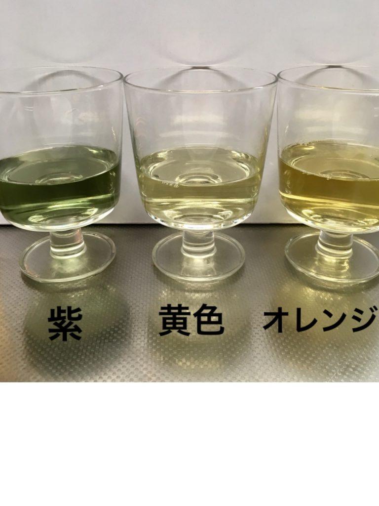 ゆで汁比較