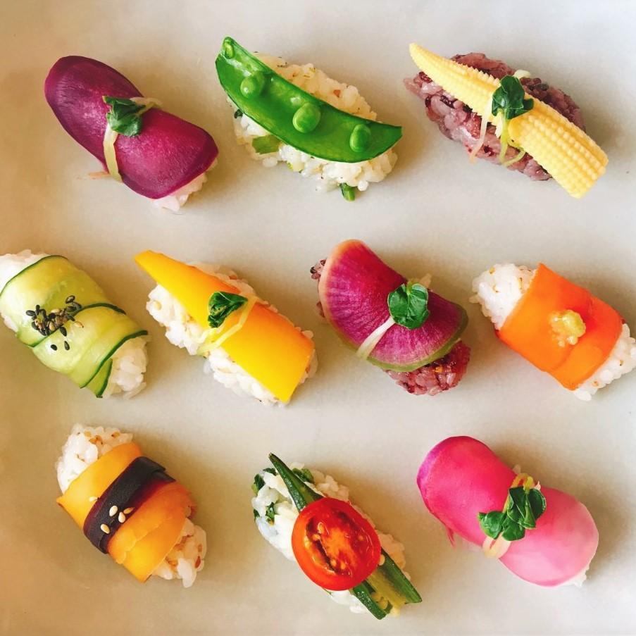 """インスタ映えする""""野菜寿司""""を作りましょう!"""