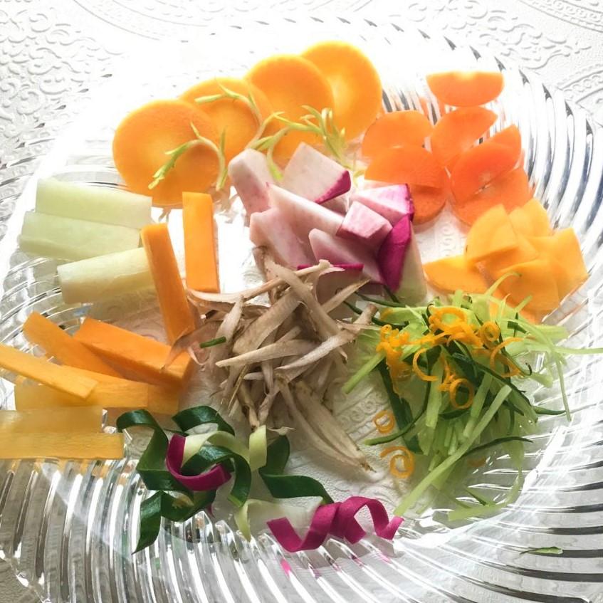 野菜の切り方調査!基本カットから飾り切りまで