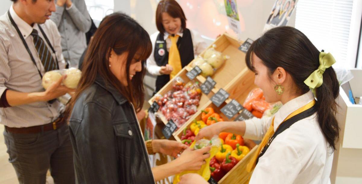 【食育マルシェ】健康経営実施企業さまで食育マルシ…