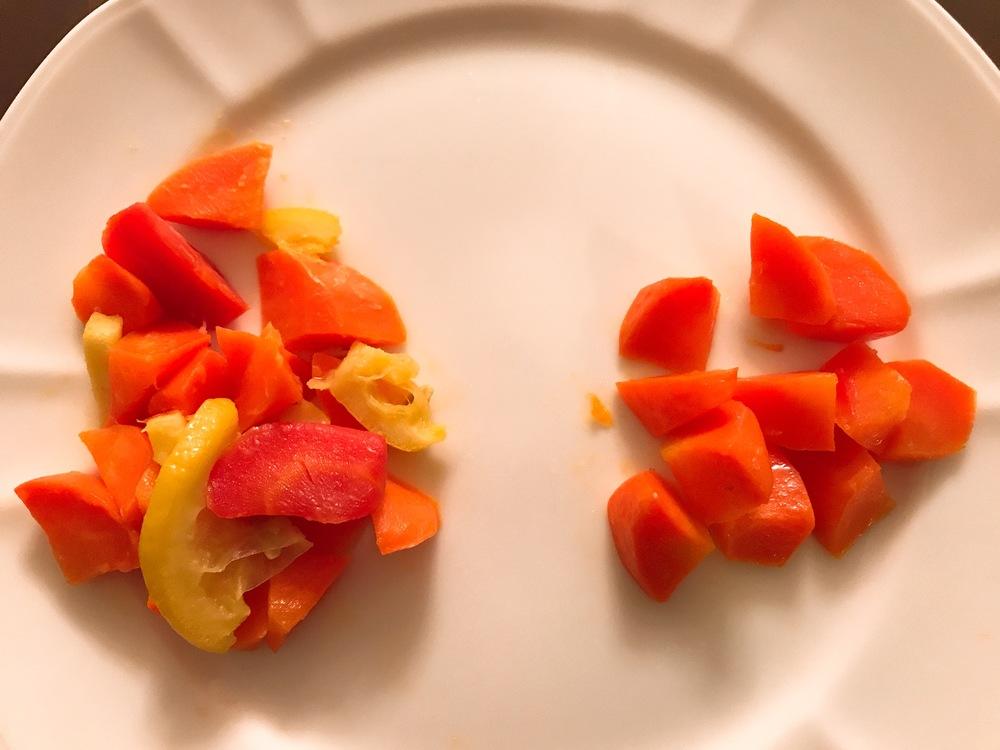 让我们摆脱蔬菜的仇恨吧!胡萝卜母鸡